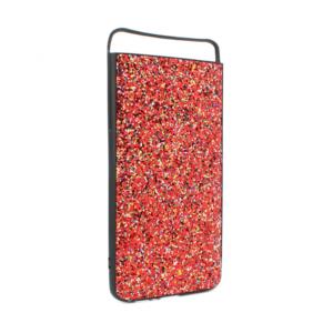 Maska Glitter za Samsung A805F Galaxy A80 crvena