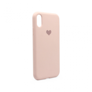 Maska Heart za iPhone XR pink