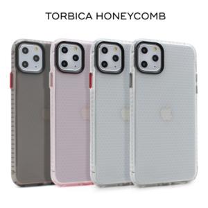 Maska Honeycomb za iPhone 6/7/8 transparent crvena