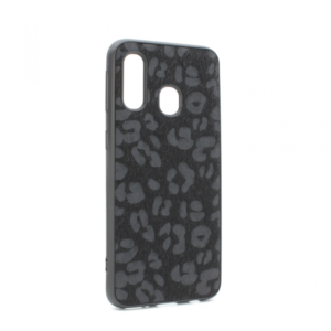Maska Leopard shell za Samsung A405F Galaxy A40 crna