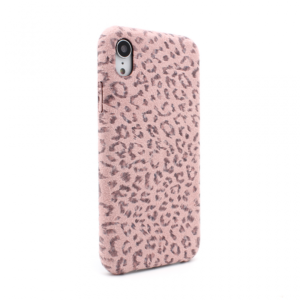 Maska Leopard za iPhone XR pink