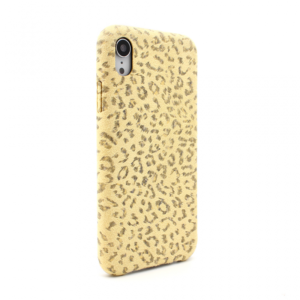 Maska Leopard za iPhone XR zuta