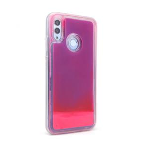 Maska Liquid color za Huawei Honor 10 Lite/P smart 2019 ljubicasto-pink
