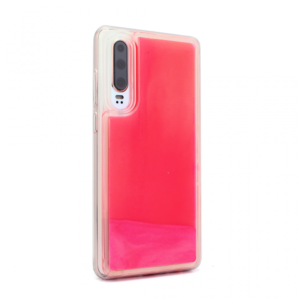 Maska Liquid color za Huawei P30 narandzasto-pink