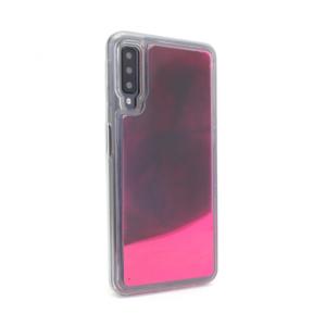 Maska Liquid color za Samsung A750FN Galaxy A7 2018 bordo-pink