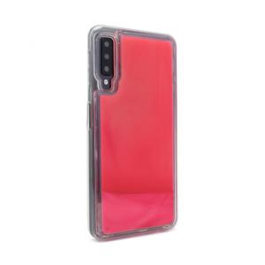 Maska Liquid color za Samsung A750FN Galaxy A7 2018 narandzasto-pink