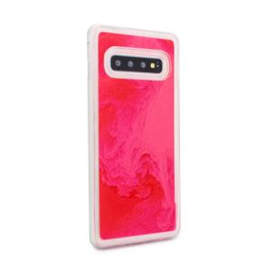 Maska Liquid color za Samsung G975 S10 Plus narandzasto-pink