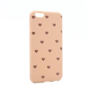 Maska Love za iPhone 6/6S braon