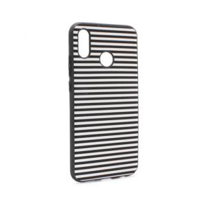 Maska Luo Stripes za Huawei P20 Lite crna