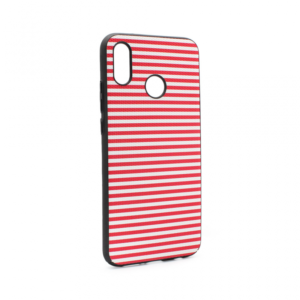 Maska Luo Stripes za Huawei P20 Lite crvena