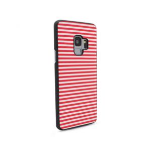 Maska Luo Stripes za Samsung G960 S9 crvena