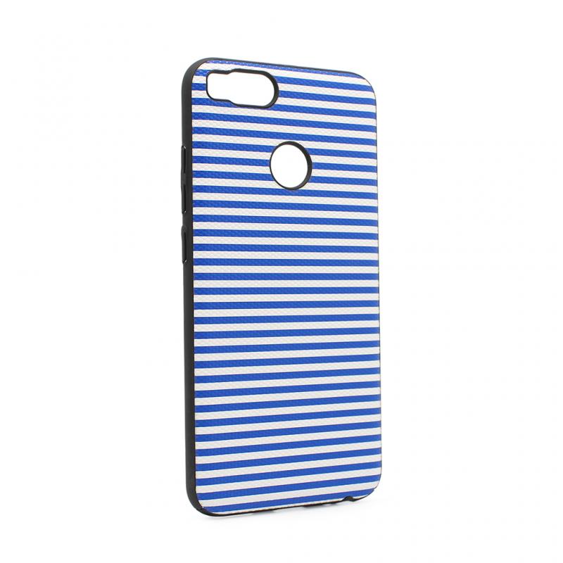 Maska Luo Stripes za Xiaomi A1/5X plava