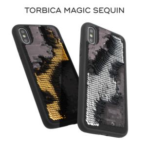 Maska Magic Sequin za iPhone 7/8 srebrna