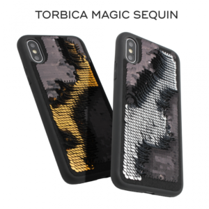 Maska Magic Sequin za iPhone 7 Plus/8 Plus zlatna