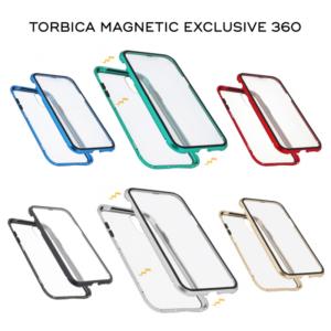 Maska Magnetic exclusive 360 za Huawei P30 Lite srebrna