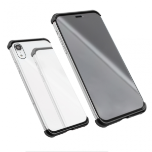 Maska Magnetic Full Glass 360 za iPhone XR crna