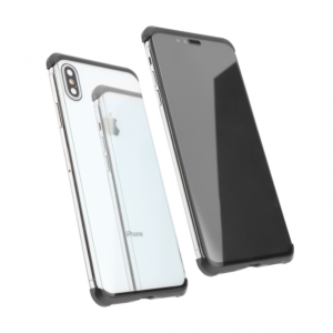 Maska Magnetic Full Glass 360 za iPhone XS Max crna