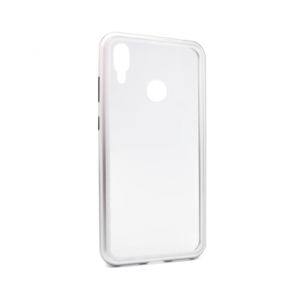 Maska Magnetic za Huawei Y7 2019/Y7 Prime 2019 srebrna