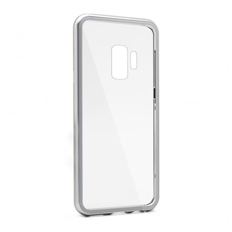Maska Magnetic za Samsung G960 S9 srebrna