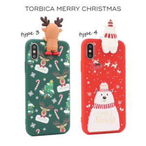 Maska Merry Christmas za iPhone 7 Plus/8 Plus type 3