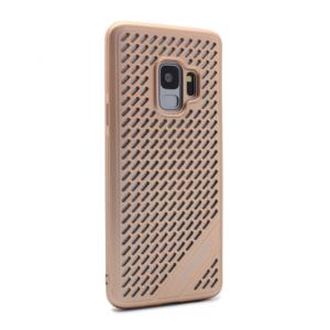 Maska Motomo Super vent za Samsung G960 S9 zlatna