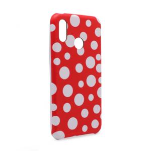 Maska Polka Dot Pattern za Huawei P20 Lite crvena