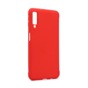 Maska Sherd TPU za Samsung A750F Galaxy A7 2018 crvena