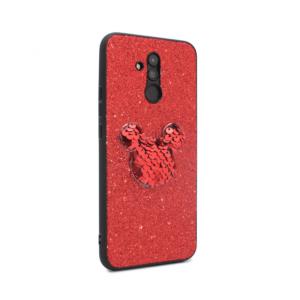 Maska Shiny mouse za Huawei Mate 20 Lite crvena