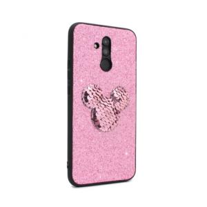 Maska Shiny mouse za Huawei Mate 20 Lite roze