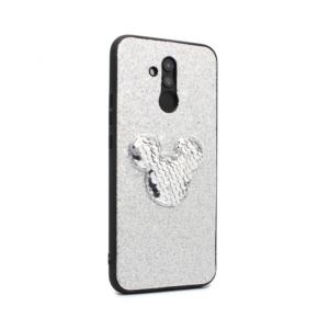 Maska Shiny mouse za Huawei Mate 20 Lite srebrna type 1