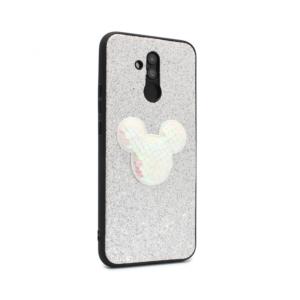 Maska Shiny mouse za Huawei Mate 20 Lite srebrna type 2