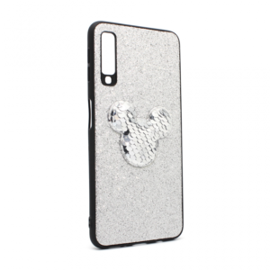 Maska Shiny mouse za Samsung A750FN Galaxy A7 2018 srebrna type 1