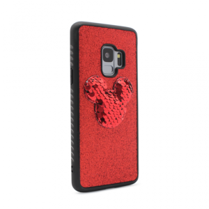 Maska Shiny mouse za Samsung G960 S9 crvena