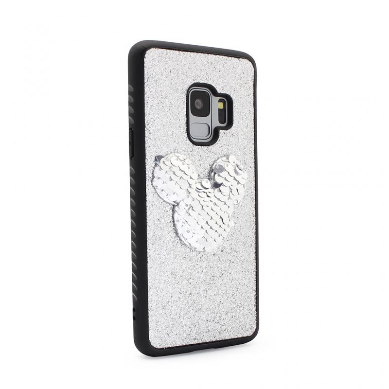 Maska Shiny mouse za Samsung G960 S9 srebrna type 1