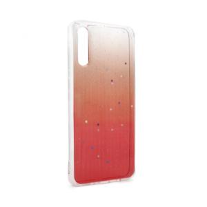 Maska Shiny Star za Samsung A705F Galaxy A70 crvena