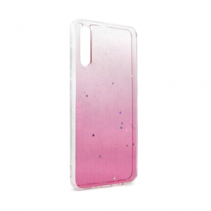 Maska Shiny Star za Samsung A705F Galaxy A70 pink