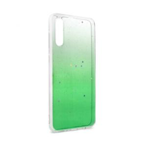 Maska Shiny Star za Samsung A705F Galaxy A70 zelena