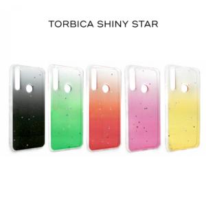 Maska Shiny Star za Xiaomi Redmi Note 8 crvena