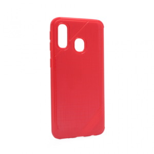 Maska Silikon rough za Samsung A405F Galaxy A40 crvena
