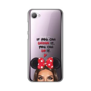 Maska Silikonska print Skin za HTC Desire 12 Disney Girl