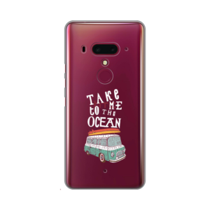 Maska Silikonska print skin za HTC U12 Take Me To The Ocean