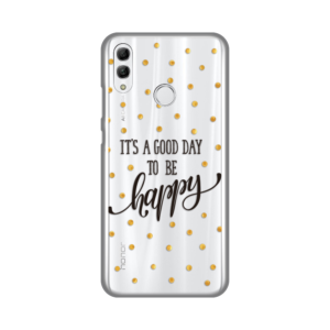 Maska Silikonska Print Skin za Huawei Honor 10 Lite/P Smart 2019 Happy Day