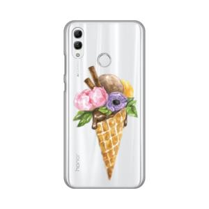 Maska Silikonska Print Skin za Huawei Honor 10 Lite/P Smart 2019 Watercolor Ice Cream