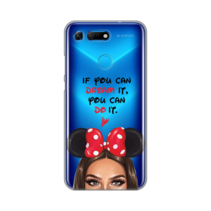 Maska Silikonska Print Skin za Huawei Honor View 20 Disney Girl