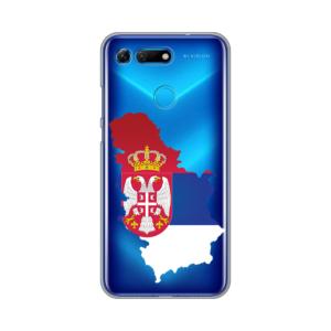 Maska Silikonska Print Skin za Huawei Honor View 20 Serbia Map