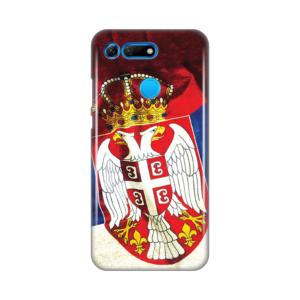 Maska Silikonska Print Skin za Huawei Honor View 20 Srb Zastava