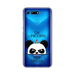 Maska Silikonska Print Skin za Huawei Honor View 20 Unicorn Ninja