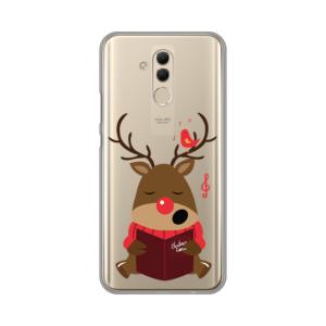 Maska Silikonska Print Skin za Huawei Mate 20 Lite Christmas Carols