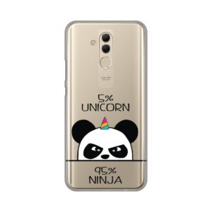Maska Silikonska Print Skin za Huawei Mate 20 Lite Unicorn Ninja