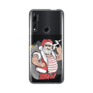 Maska Silikonska Print Skin za Huawei P smart Z Bad Santa